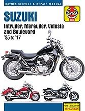 Suzuki Intruder, Marauder, Volusia & Boulevard, 1985-2017 Haynes Repair Manual: Does not include VX800 Marauder (Haynes Powersport)