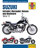 Suzuki Intruder, Marauder, Volusia & Boulevard, 1985-2017 Haynes Repair Manual: Does not include VX800...
