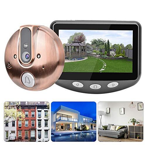 Video deurbel met 4,3 inch scherm, IR nachtzicht camera deurbel