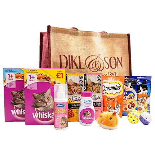 Pet Hamper & Bags (The Cat Selection Bag)