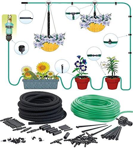 Royal Gardineer Mini Bewässerungssystem: Pflanzen-Bewässerungssystem für Balkon & Terrasse, bis 15 Pflanzen (Bewässerungssysteme Balkon)