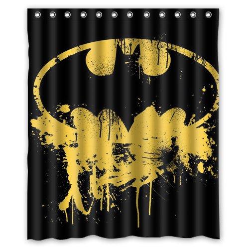 batman logo Duschvorhang 182.88 x 60 cm