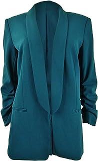 DKNY Womens Solid Polyester Blazer