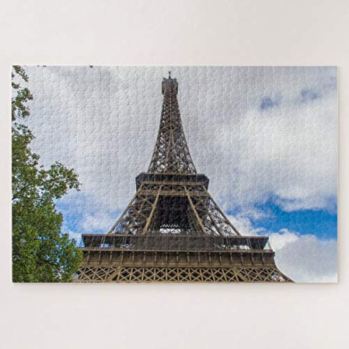 CICIDI Eiffel Tower, Paris, France Jigsaw Puzzle 1000 Pieces for Adult Entertainment DIY Toys , Graet Gift Home Decor