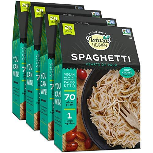 Natural Heaven Spaghetti Hearts of Palm Noodles 9oz