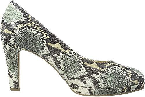 Gabor Shoes Damen Fashion Pumps, Grün (Schilf 51), 39 EU