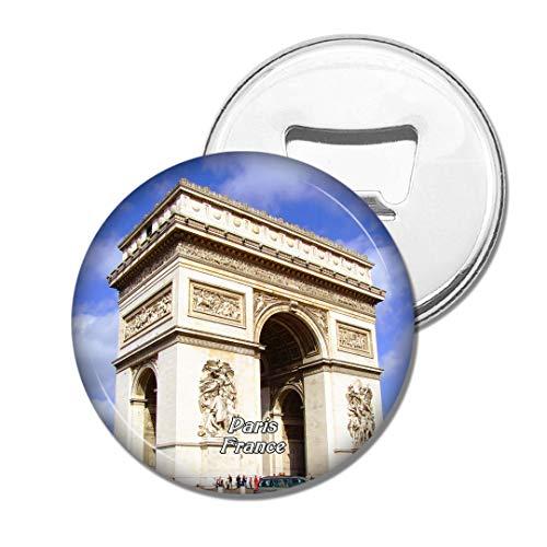 Weekino France Arc de Triomphe Paris Bière Ouvre-Bouteille Aimant De Réfrigérateur Voyage Souvenir Autocollant de réfrigérateur Fort