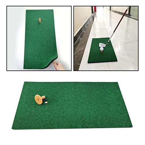 WNAVX Colchoneta de práctica de Golf Mat de la práctica de Golf Antideslizante Poner la tee de la Alfombra de la Alfombra del jardín del jardín Fuerte Resistencia (Color : 60x30cm)