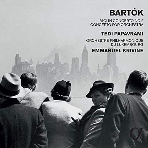 Tedi Papavrami, Orchestre Philharmonique du Luxembourg & Emmanuel Krivine