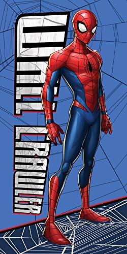 Spiderman Duschtuch Badetuch Strandtuch Velourstuch 70 x 140cm