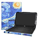 Alapmk Protective Case Cover for 13.3' Dell Latitude 13 3380 Education & Dell Chromebook 13 3380 Series Laptop(Warning:Not fit Latitude 13 3350 3340 3330/Latitude 13 2-in-1 3390 3379),Starry Night