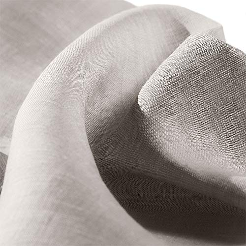 Cuore di lino - L102 Tessuto in Puro Lino 100% h 218 Naturale 165 g/mq