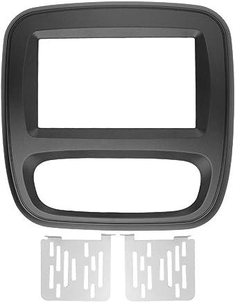 Maxiou - Marco de Radio para Renault Trafic Opel Vivaro (Doble DIN, estéreo,