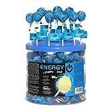 Cerdán Energía Pop Chupas Caramelos con Palo Multivitaminas, Energético con Ginseng 100 Unidades de 10.5 g