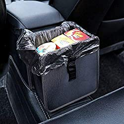 Hanging Car Trash Bag Can Premium Waterproof Litter Garbage Bag Organizer