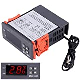 STC-1000 Digital Temperature Controller Thermostat Calibration Controller Heating and Cooling Temperature Controller Dual Relay