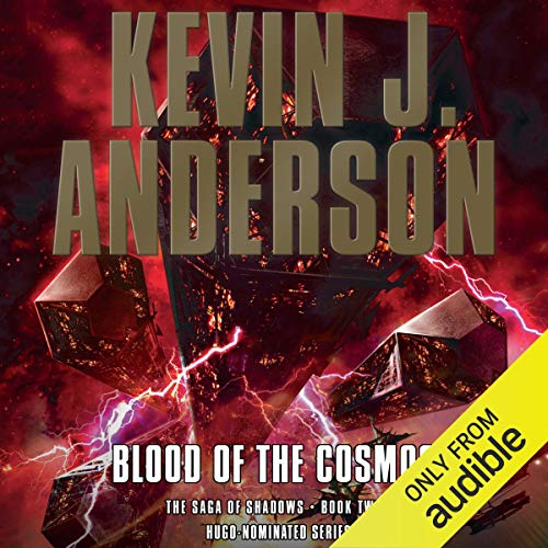 Blood of the Cosmos audiobook cover art