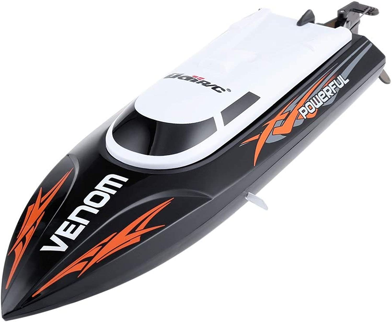 Generic UDI 001 Tempo Power Venom 2.4G RC Boat with Auto Rectifying Deviation Direction Function Black