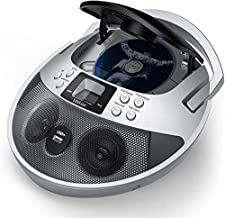 CD Player, CD Player Boombox Portable, VENLOIC Portable CD Player Boombox with USB,..