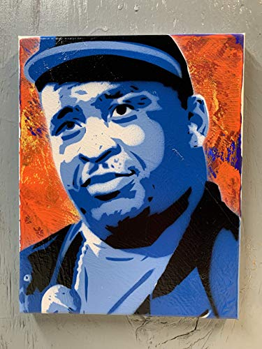 Patrice O'Neal Painting on Stretched Canvas 8x10 Inches
