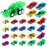 3 otters Pull Back Car, 24PCS Kids Valentines Toys Cars Mini Toy Cars Party Favors Mini Race Cars for Boys School Reward Prizes