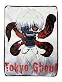 Tokyo Ghoul Ken Kaneki Anime Fleece Throw Blanket