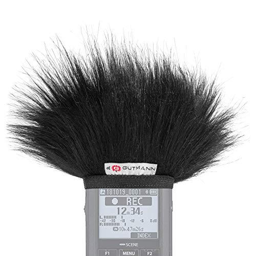 Gutmann Mikrofon Windschutz für Olympus LS-P1 / LS-P2 / LS-P4