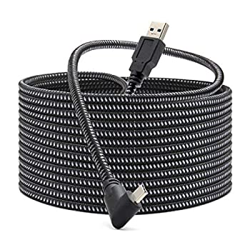 KRX Link Cable Compatible for Oculus Quest 2 Fast Charing & PC Data Transfer USB C 3.2 Gen1 Cable for VR Headset and Gaming PC
