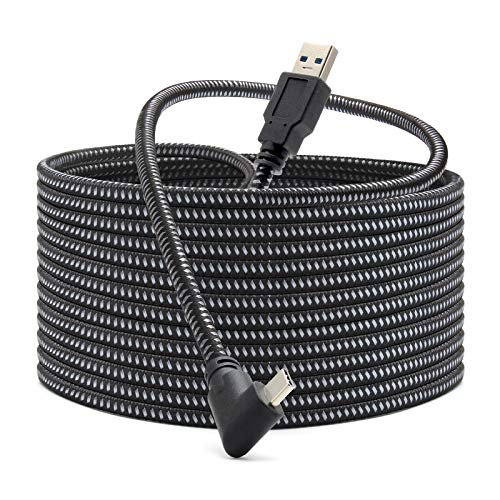 KRX Link Cable Compatible for Oculus Quest 2, Fast Charing & PC Data...
