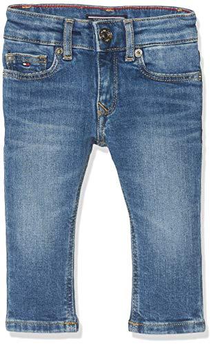 Tommy Hilfiger Mädchen Girls Nora Skinny Nyms Jeans, Blau (New York Mid Stretch 911), 122 (Herstellergröße: 7)