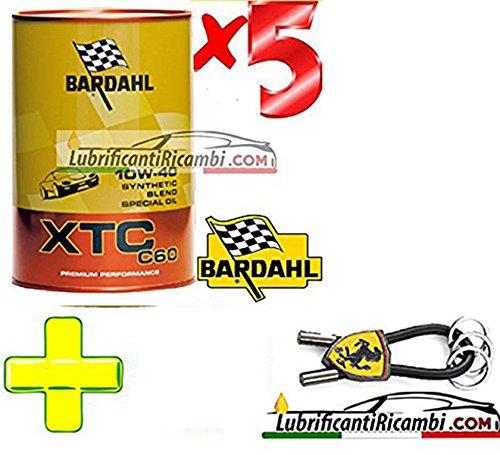 Bardahl - Olio Motore Auto Sintetico XTC C 60 10W40 - Offerta 5 litri