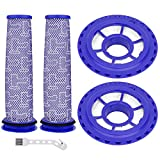Aryavos 2 Pack HEPA Post Filters & 2 Pack Pre Filters Compatible with Dyson DC41 DC65 DC66 UP13 Animal UP20 Ball Animal, Multi Floor and Ball Vacuums, Replace Part #920769-01&920640-01