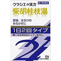【第2類医薬品】「クラシエ」漢方柴胡桂枝湯エキス顆粒SII 8包