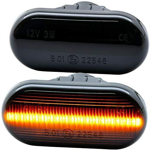 rm-style LED SEITENBLINKER schwarz Smoke [7811-1]