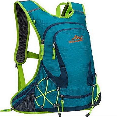 BBYaKi 20 L Ciclismo Backpack Viaggi Duffel Zaino Zainetti Da Alpinismo Attività Ricreative Viaggi Corsa Campeggio E Hikingompermeabile , Green
