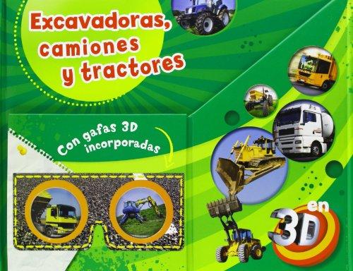 Koparki ciezarówki traktory: Zintegrowane z ksiazka okulary 3D