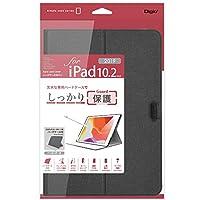 ナカバヤシ iPad 10.2inch 2019 用 ハードケースカバー ブラック TBC-IP1907BK