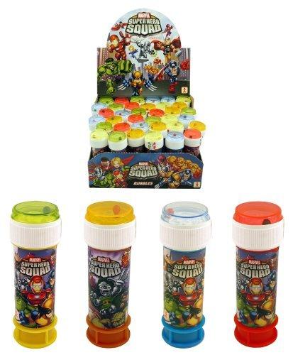 Boîte de filles garçons enfants Iron Man Avengers Bubbles Pots Parti Sac Stocking Filler