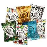einhorn Kondome Jahresvorrat - 49 Kondome - 7 Tüten - vegan, hormonfrei, feucht, 100% geprüft