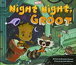 Night Night Groot board book for children