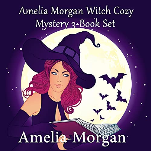 Amelia Morgan Witch Cozy Mystery 3-Book Set Audiobook By Amelia Morgan cover art