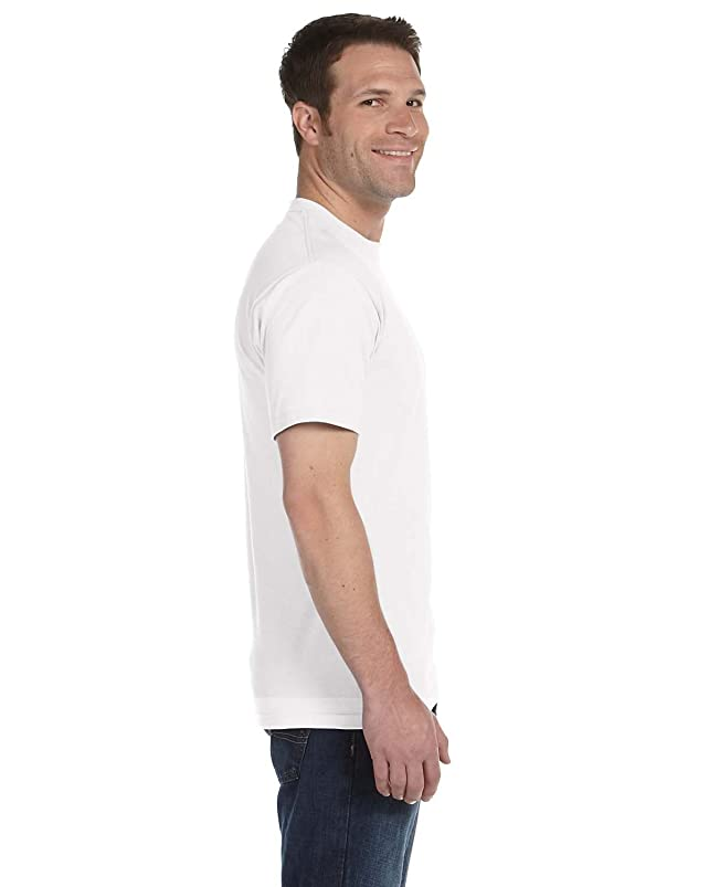 Gildan G8000 50% Cotton 50% Polyester DryBlend T-Shirt White Large 3 Pack stslmazn545819