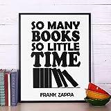 olwonow Klassische inspirierende Zitate so viele Bücher