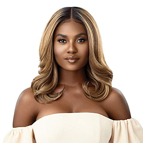 Outre Melted Hairline Lace Front Wig HD Transparent Lace Frontal Effect Hairline Redesigned Comfortfit Ear Contour JENNI (1)