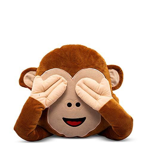D-Mail - Cojín emoticono mono