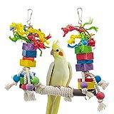 Xinllm Bird Toys Budgie Toys Bird Toys For Parrot Birds Bird Toys Budgie Toys Parrot Perch Parrot Toys African Grey Parrot Toys Cockatiel Toys