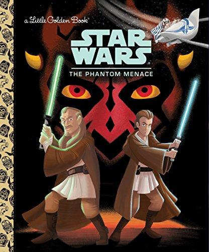 SW THE PHANTOM MENACE (Little Golden Books: Star Wars)