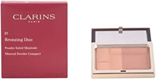 Clarins Bronzing Duo SPF15 Mineral Powder Compact, #01-Light, 10g