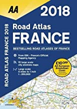 2018 Road Atlas France (Aa Road Atlas)