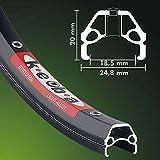 Ambrosio kEBA 26 'jante vélo vélo noir 36 trous